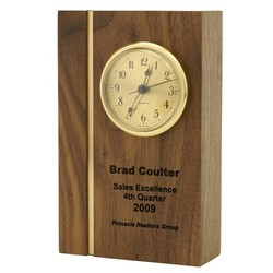 Award Pedestal with Quartz Clock