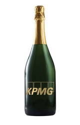 Etched CA Champagne Sparkling Wine - Etching option; One color fill