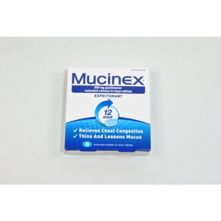 Mucinex 174 Expectorant 6 Count 2304641 Custom Logo