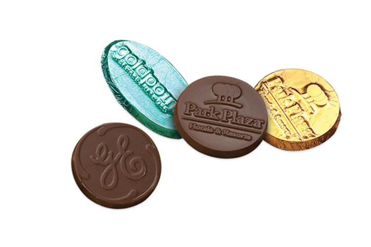 1.75 Round/Oval Custom Molded Chocolate