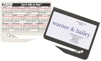 Calendar/Business Card Letter Openers