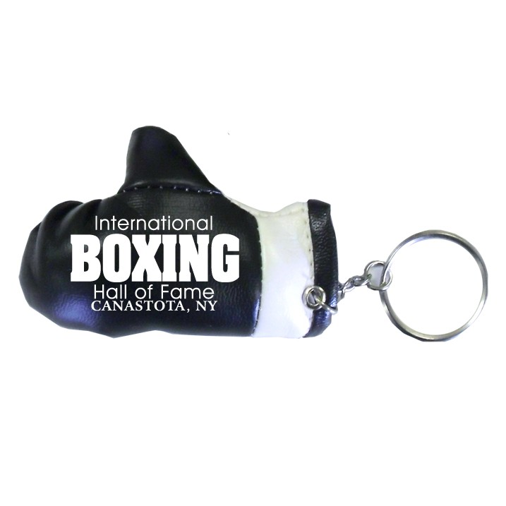Boxing Glove Keychain 3 1/4 - Black
