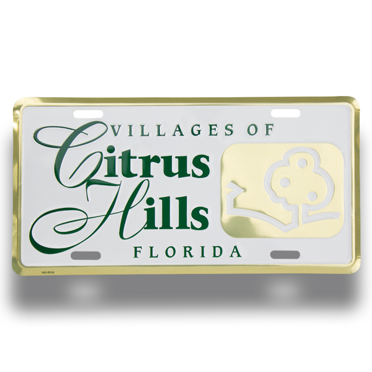 Auto Deluxe License Plates