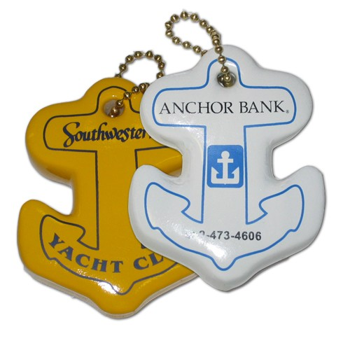 Anchor Key Float - Anchor vinyl coated keyfloat