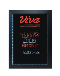 LED Wet/Dry Erase Board -18x24