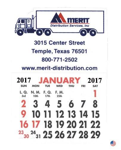 Peel & Stick Calendar