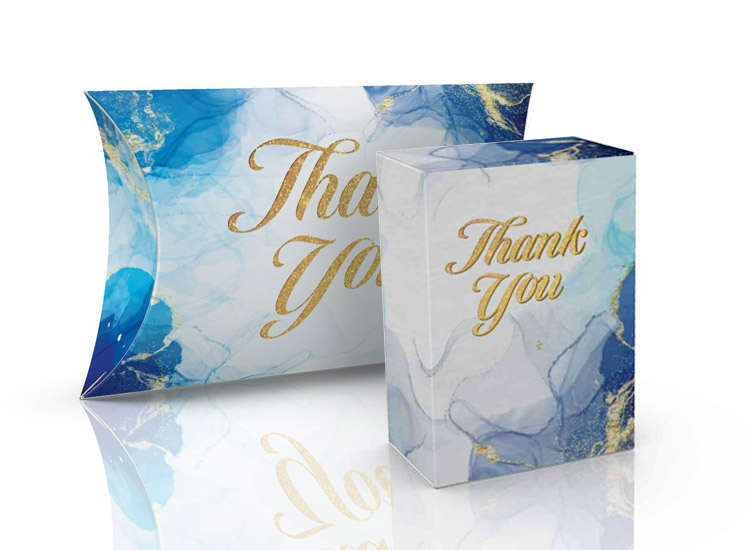 Thank you gift kit packaging