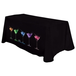 Digital 6' Throw Table Cover / Cloth - Standard Poly Fabric