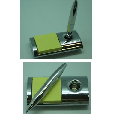 Desktop magnetic floating pen w/ memo holder