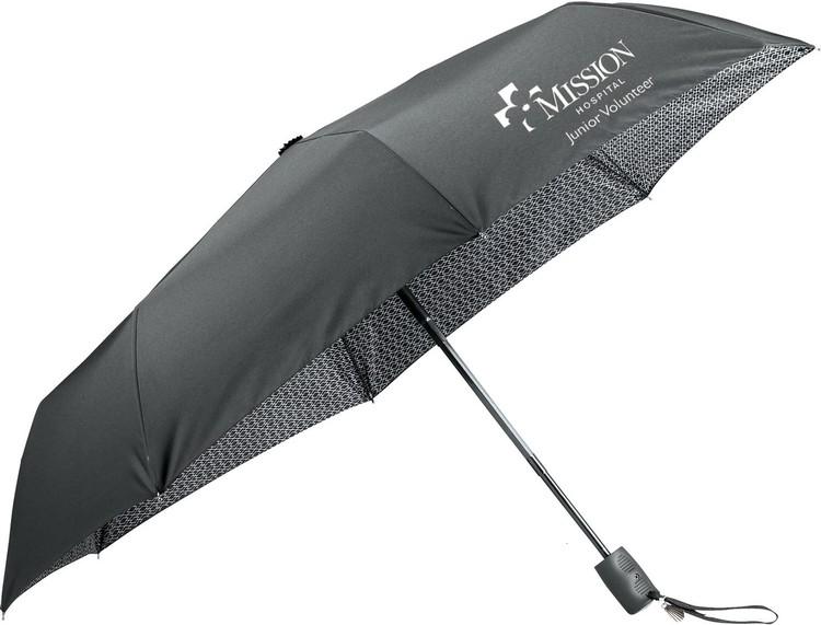 42 Inch Compact Auto Open/Auto Close Folding Umbrella CLEARANCE