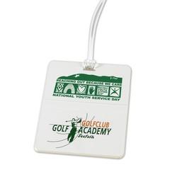 Rectangle Golf Bag Tag
