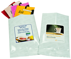 Flavored Tea Samplers - White foil