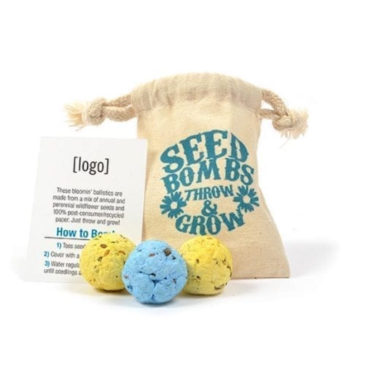 Seed Paper Bomb, Bag 3 Pack (SBB3)