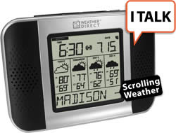 4 Day Talking Internet Powered Wireless Forecaster with E-Mail Reader