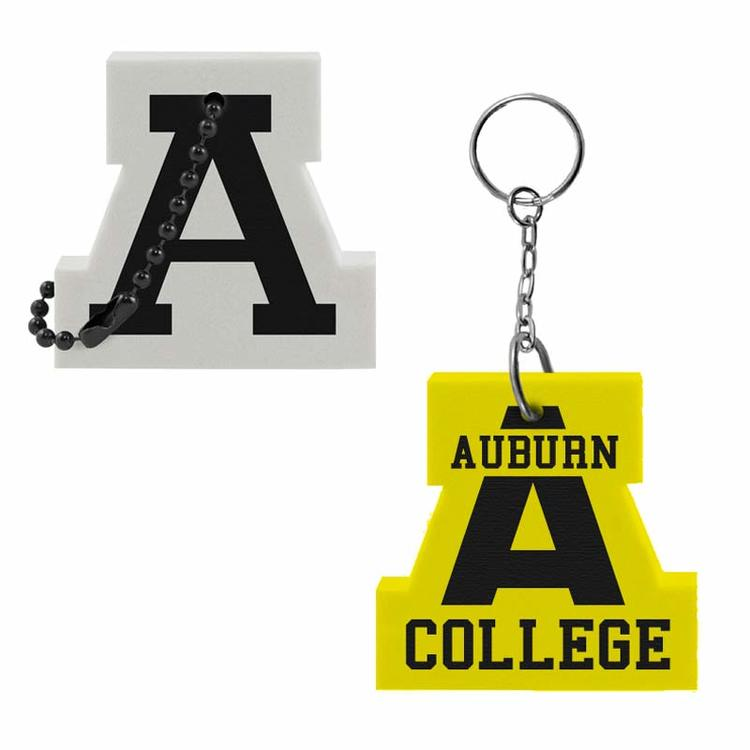 Letter A Key Tag