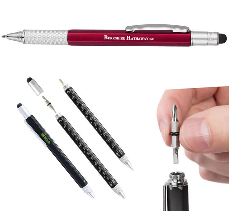 Multi Function Stylus Pen and Screwdriver