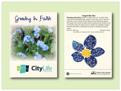 Forget Me Not Seed Packet - Imprinted Seed Packet