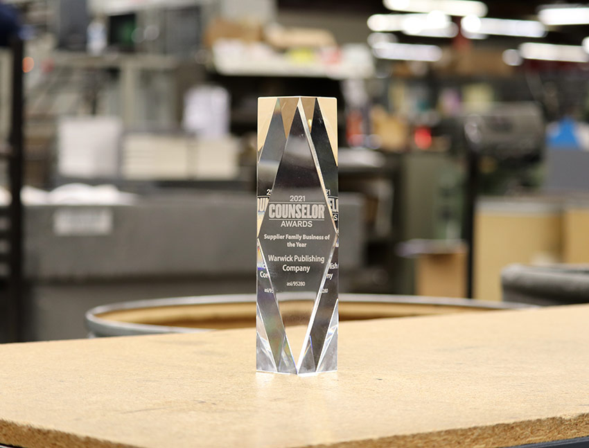 Glass award for Supplier Family Business of the Year