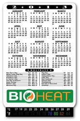 Calendar Magnet with Thermometer