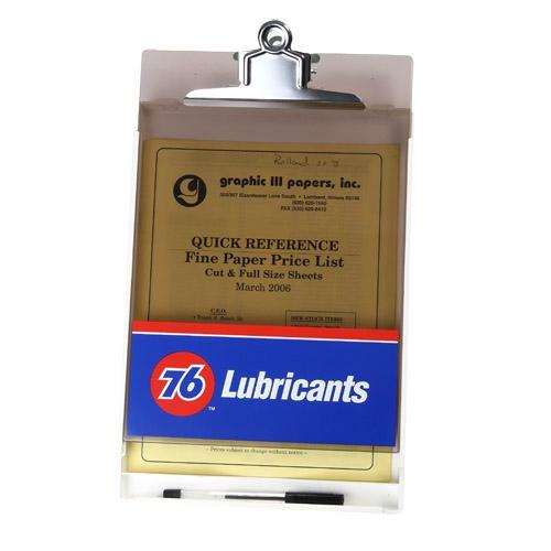 Letter Size Clipboard w/ Storage Box & Metal Clip