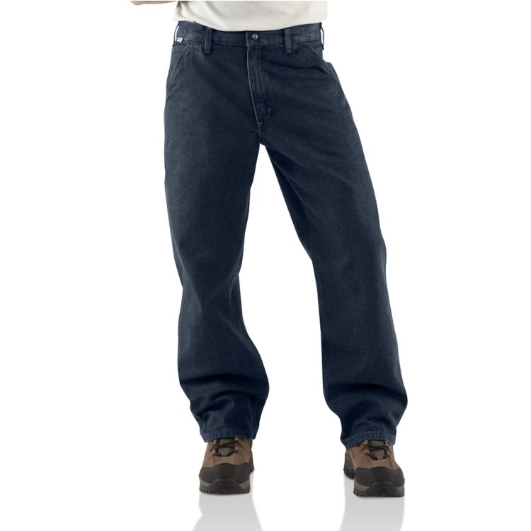 Carhartt FRB13 Flame Resistant Signature Denim Dungaree