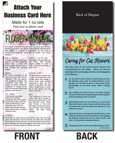 AdCard – Flowers Tips/Cut Flower Tips