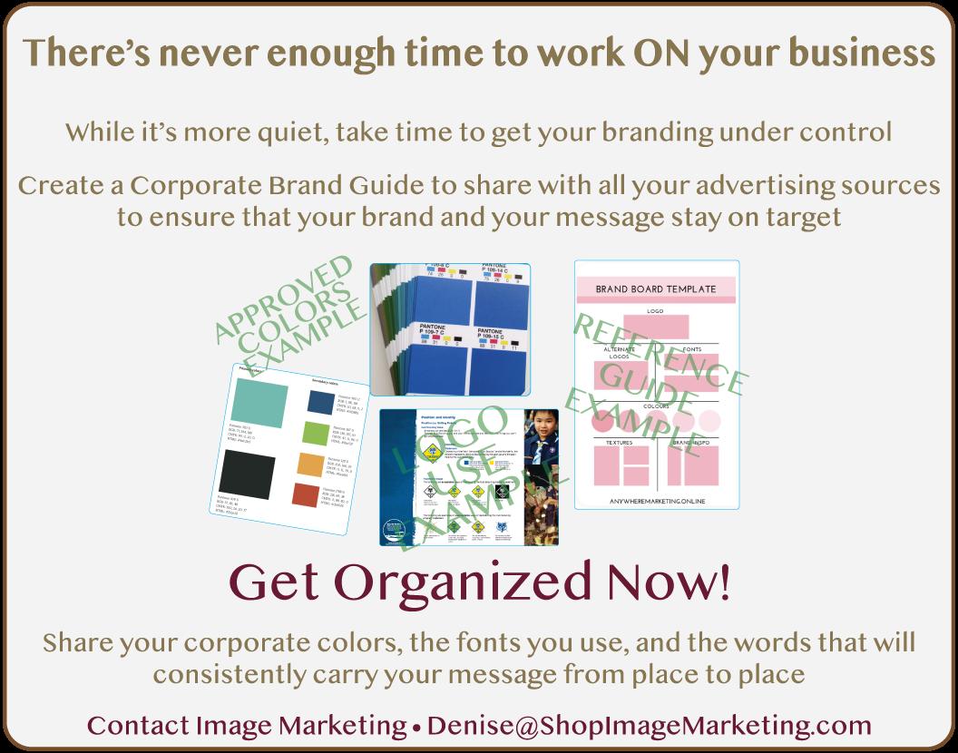 Custom Style Brand Guide Advertisement 1