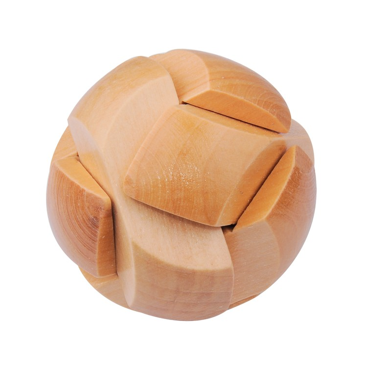 Round Wooden Puzzle