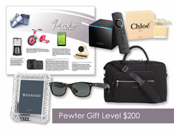$200 Gift of Choice (Pewter Level) Gift Card