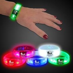 8 Light Up LED Glow Bangle Bracelet