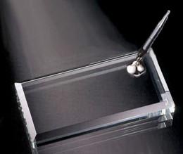 Thomas Jefferson Pen Set. Jade Glass