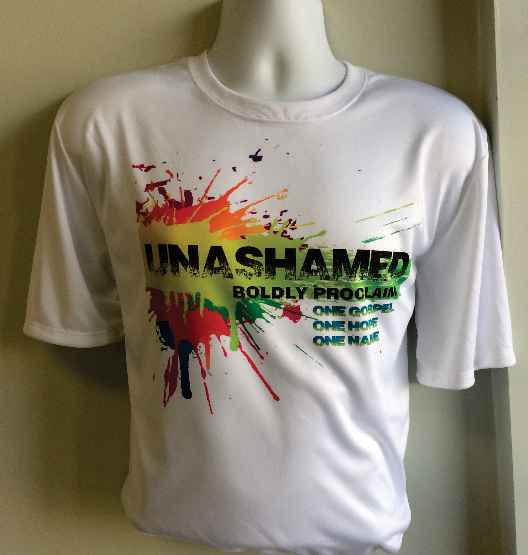 Unashamed Full Color print on Dri-Fit T-Shirts