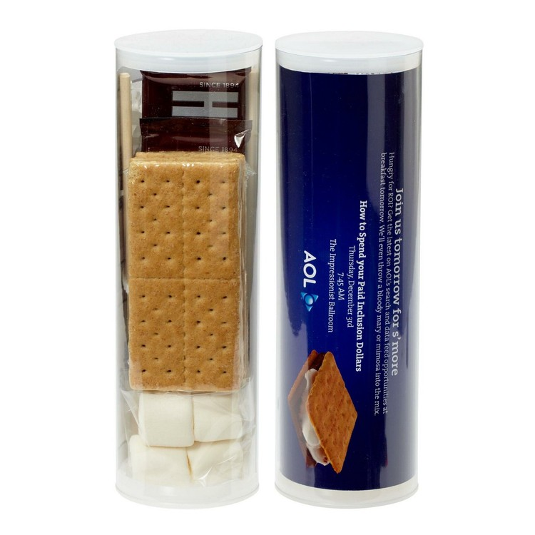 Small Campfire S'mores Kit Tube - 48 Hour Express Item