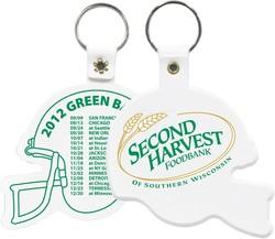 Football Helmet Key Chain