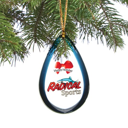 Custom shaped Holiday / Christmas Ornament / Charm / Tag (Single Sided) from 6.1 - 7 Sq. In.