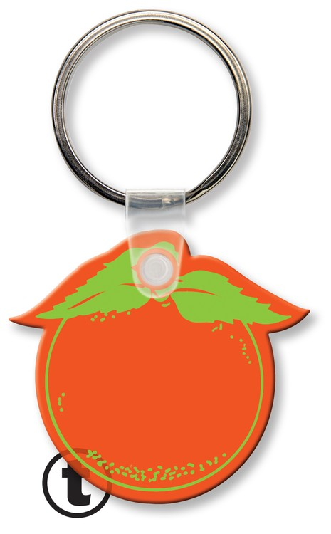 Key Tag - Orange - Spot Color