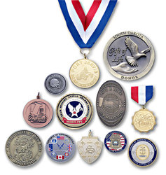 Coins, Medals and Paperweights 1 1/2