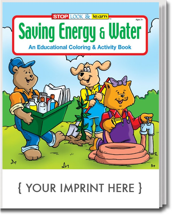 COLORING BOOK - Saving Energy and Water Coloring & Activity Book
