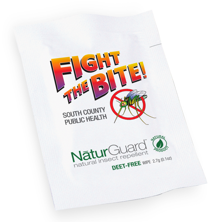 Herbal Armor Insect Repellent Wipes, Direct Imprint