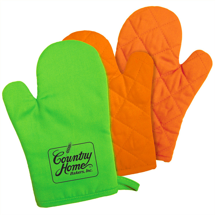 Kitchen Bright Oven Mitt - Promotional Products