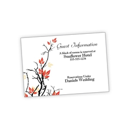 Wedding Enclosure Card Flat - 3.5x5