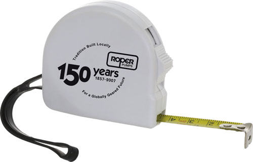 6 ft. Retractable Tape Measure with Wrist Loop and Belt Clip