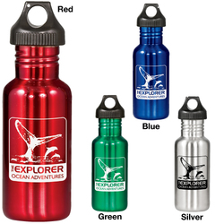 Explorer 20 oz. Stainless Steel Bottle - Drinkware