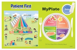 My Plate Healthy Eating Placemat