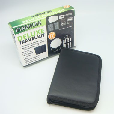 17PCS DELUXE TRAVEL KIT