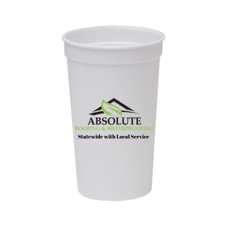 22 oz. Smooth Plastic Stadium Cup