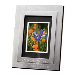 Silver CloudDigital Picture Frame, Brushed Silver - Digital