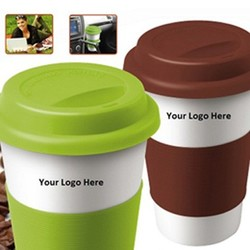 12.5 oz. Eco-Friendly Ceramic Mug, Set of two
