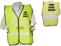 Lime Mesh Safety Vest Rx - Large
