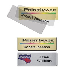 Complete Click-It Name Badge (Standard Size 1 x 3) - Name Badges